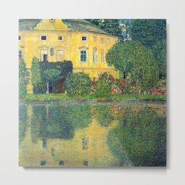 "Gustav Klimt ""Schloss Kammer on the Attersee IV"" Metal Print"