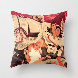 Verhoeven Throw Pillow