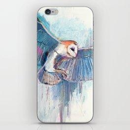 Broken Owl iPhone Skin