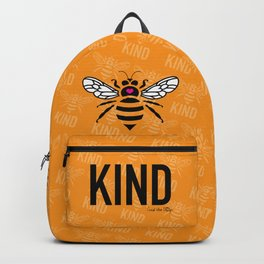Be Kind - orange Backpack