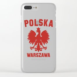 WARSAW Clear iPhone Case