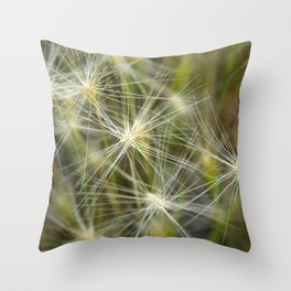 Late summer cheatgrass Throw Pillow
