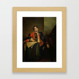 Prince Daesung of Bigbang Framed Art Print