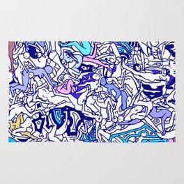 Kamasutra LOVE - Indigo Blue Rug