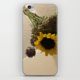Drying Flowers iPhone Skin
