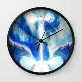 Wave Blast Wall Clock