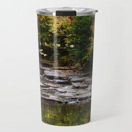 Fall Creek Landscape Travel Mug