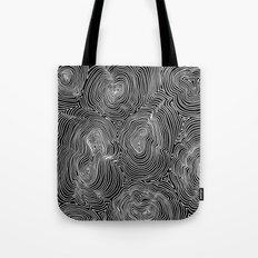 Inverse Contours Tote Bag