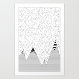 Mountain HD Art Print