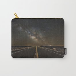 Go Beyond - Road Leads Into Milky Way Galaxy Carry-All Pouch