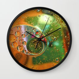 Oil and water Wall Clock