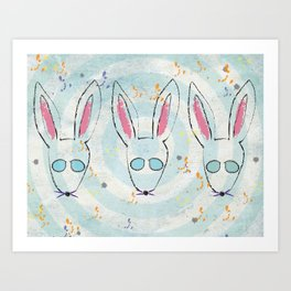 Bunsies Art Print