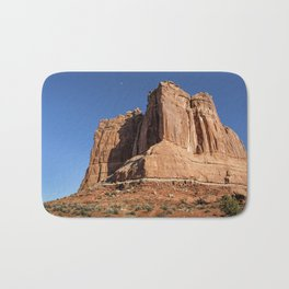 Courthouse Towers - Arches National Park Bath Mat
