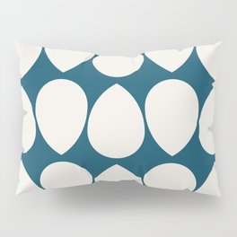 Wilma in Navy Blue and Ivory Pillow Sham