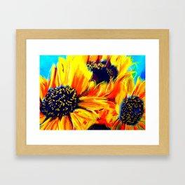 Girasol Nine Framed Art Print