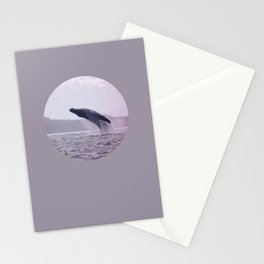 Breaching Humpback Stationery Cards