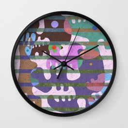 Unearthed 2 Wall Clock