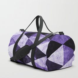 Abstract #975 Ultraviolet Duffle Bag