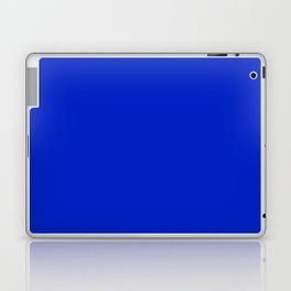 Solid Deep Cobalt Blue Color Laptop & iPad Skin