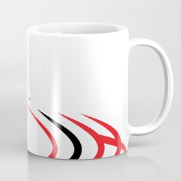 Abstract (R+B) Coffee Mug