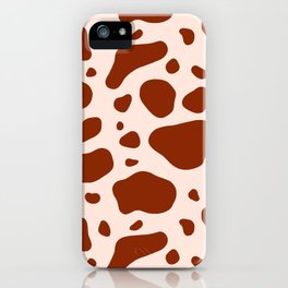 How Now Brown Cow iPhone Case