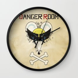Danger Room Wall Clock