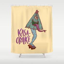 Kasa-obake Shower Curtain