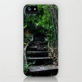 Koh Larn Steps iPhone Case