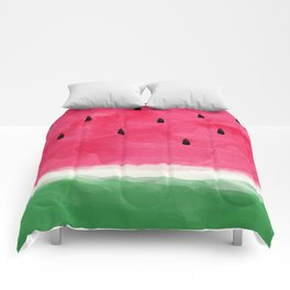Watermelon Abstract Comforters