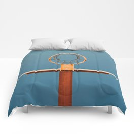 basketball hoop 5 Comforters