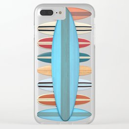 Surfboards Clear iPhone Case
