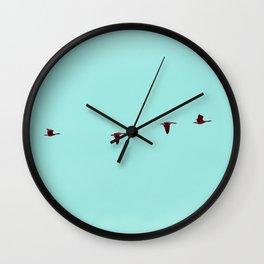 Take Flight - Wild Goose Chase Wall Clock