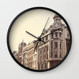 Morning in Dublin Wall Clock