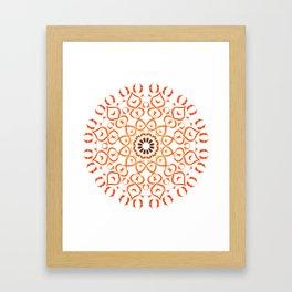 Soul mandala Framed Art Print