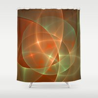 shining Shower Curtains featuring Shining by gabiw Art