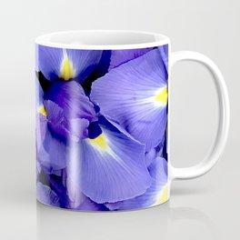 Glorious Royal Purple Iris Flowers Coffee Mug