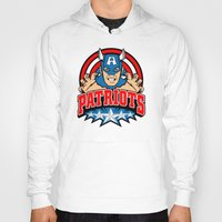 patriots Hoodies featuring Patriots by Buby87
