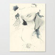 Selfie Portrait Canvas Print