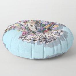 Birds in Bloom Floor Pillow