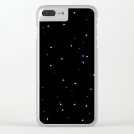 DEEP STAR OCEAN Clear iPhone Case