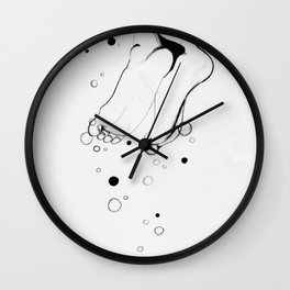 My own two feet Wall Clock