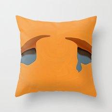 Tears of love Throw Pillow