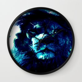 Galaxy Lion Wall Clock