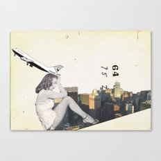 Longing For The City Canvas Print