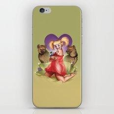 Don'tcha Wanna Rev Up Your Harley? iPhone & iPod Skin