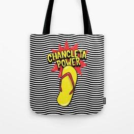 Chancleteo Groovy Tote Bag