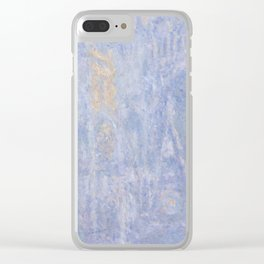Rouen Cathedral Facade (Morning effect) Clear iPhone Case
