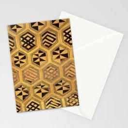 African Kuba Diamonds Stationery Cards