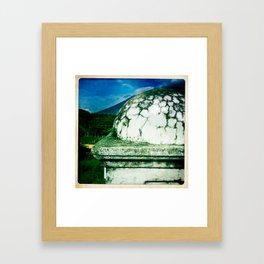 roof top Framed Art Print