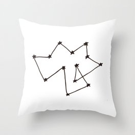 Constellation of Nothing Throw Pillow